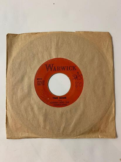 JOHNNY AND THE HURRICANES ?? Reveille Rock / Time Bomb 45 RPM 1959 Record