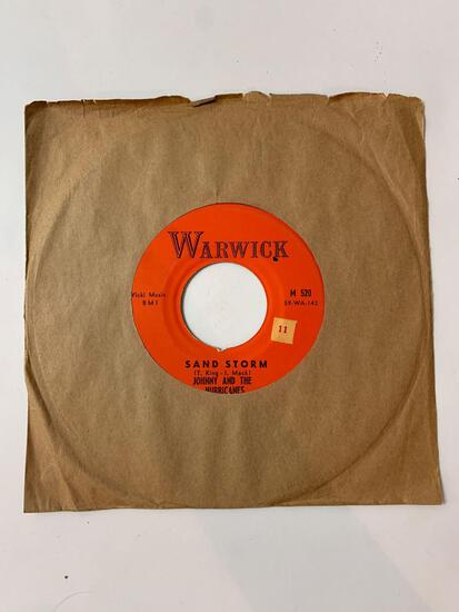 JOHNNY AND THE HURRICANES ?? Sand Storm / The Beatnik Fly 45 RPM 1959 Record