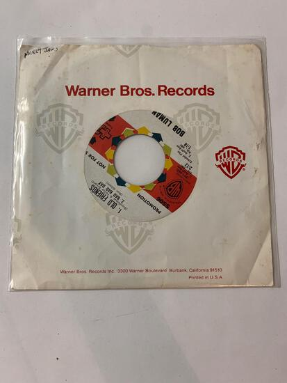 BOB LUMAN Boston Rocker / Old Friends 45 RPM 1961 Record