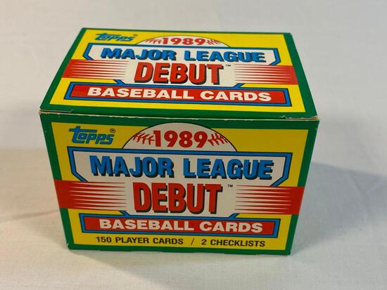 1989 Topps Baseball Debut... Set 150 Cards-MINT condition