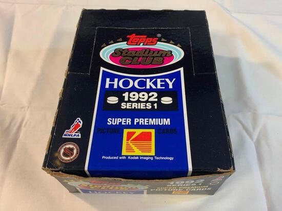 1992-93 Stadium Hockey Series 1 Box (36 Packs)