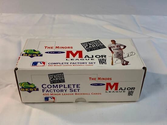 1991 Classic Best the Minors Baseball Set 1-450