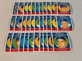 1957 BROOKLYN DODGERS commemorative 40-card SET