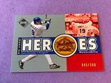 JUAN GONZALEZ 2002 UD Baseball Game Used BAT Card