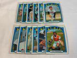 Lot of 12 ORIOLES 1972 Topps Baseball Cards