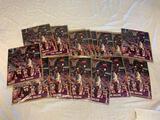 Lot of 28 KARL MALONE Utah Jazz Hoops Basketball 8x10 Photos. NEW