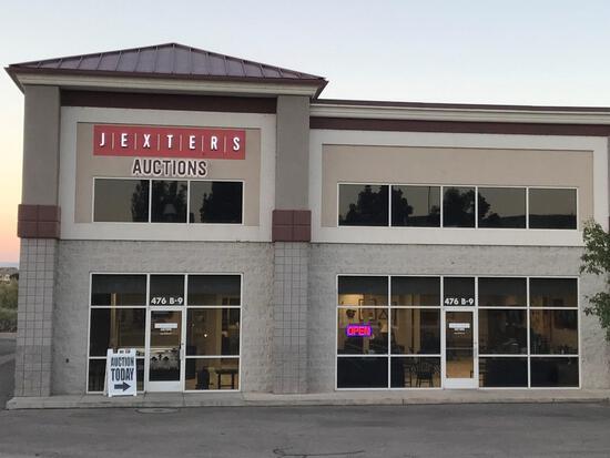 Jexters Live Public Estate Items Auction - 8/8/20