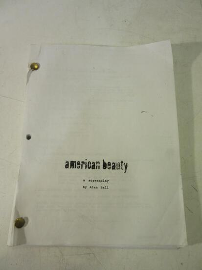 American Beauty Screenplay By Alan Hall