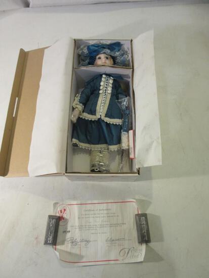 """16"""" Design Debut Collection Porcelain Doll #1293"""
