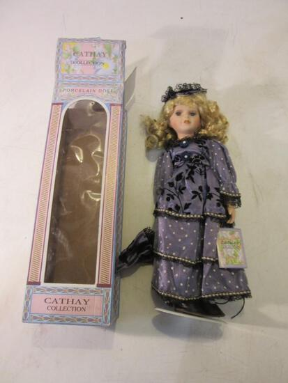 "16"" Cathay Collection Limited Ed. Porcelain Doll"