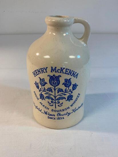 Vintage Henry McKenna Bourbon Whiskey Jug