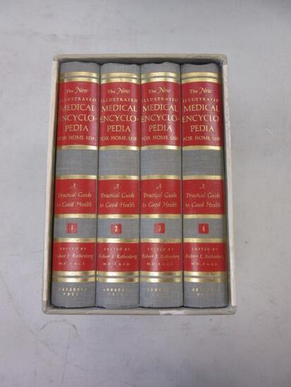 The New Illustrated Medical Encyclopedia for Home Use 4-Volume Set