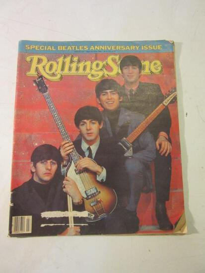 Vintage Rolling Stone Magazine The Beatles Edition