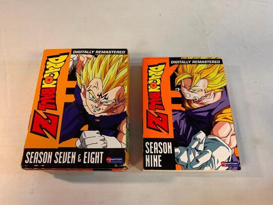 DRAGONBALL Z Season 7-9 DVD Movies Sets