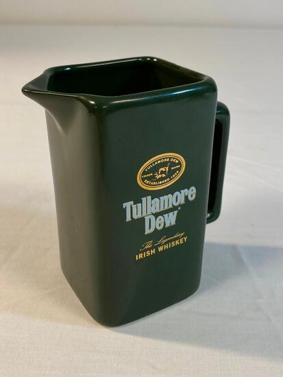 Vintage Tullamore Dew Irish Whiskey Pub Pitcher
