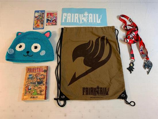 Lot of FAIRY TAIL anime manga items
