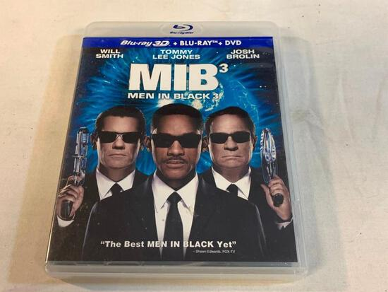MEN IN BLACK 3 3D Blu-ray Movie