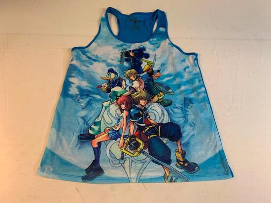 Disney KINGDOM HEARTS Tank Top Shirt Size XL