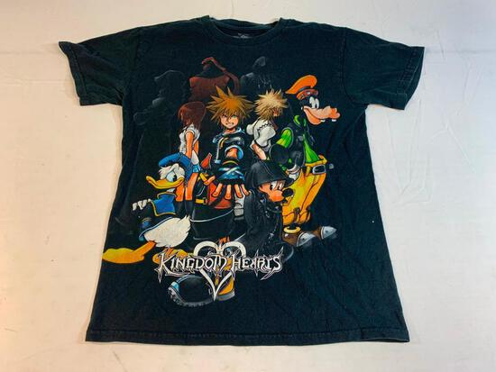Disney KINGDOM HEARTS T-Shirt Size Small