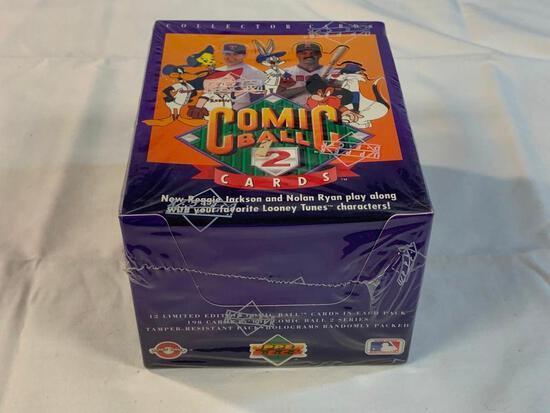1991 UD Comic Ball 2 Baseball Card Sealed Box NEW