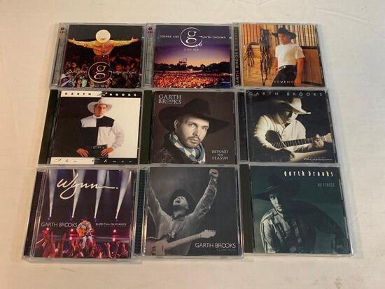 GARTH BROOKS Lot of 11 Music CDS
