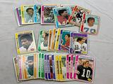 Lot of 55 1978 Topps Football Cards with Stars