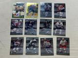 Lot of 12 AUTOGRAPH Hockey Insert Cards