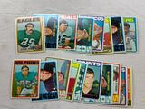 1972 Topps Football Cards Lot of 23