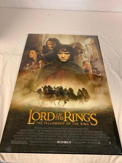 LORD OF THE RINGS Fellowship Movie Poster