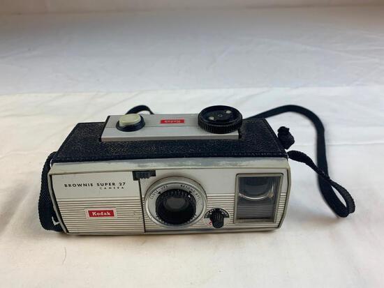 Vintage Kodak Brownie Super 27 Film Camera