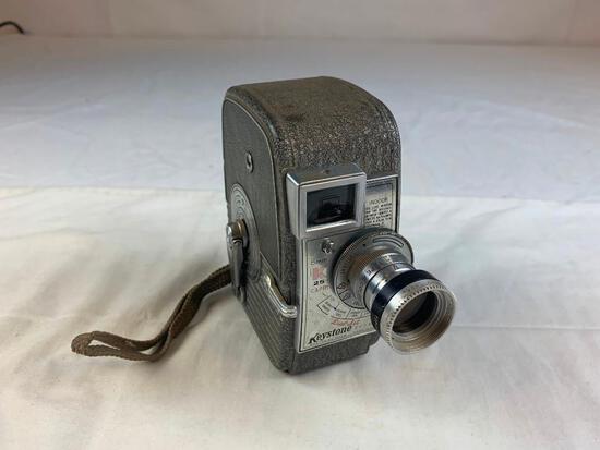 Vintage Keystone Capri K25 8mm Movie Cine Camera