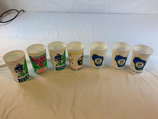 1989 BYU Holiday Bowl and Beloit Brewers Cups