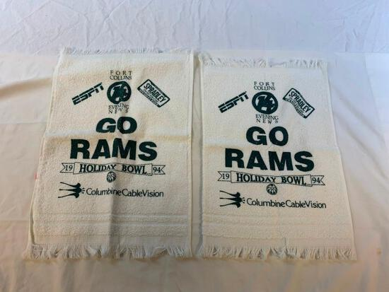 2 Colorado State Rams 1994 Holiday Bowl Towels
