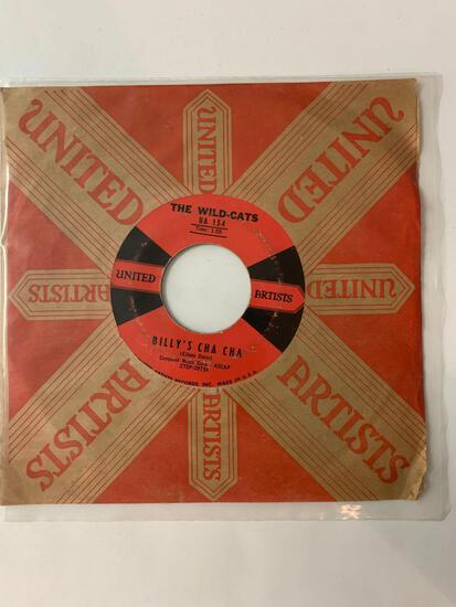 THE WILD- CATS Gazachstahagen / Billy's Cha Cha 45 RPM 1958 Record