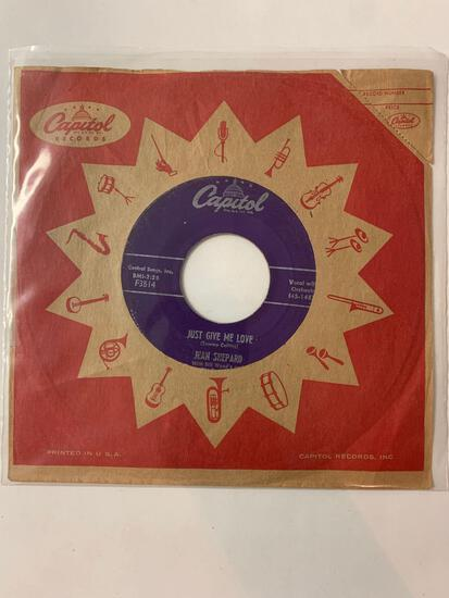 JEAN SHEPARD Thank You Just The Same 45 RPM 1956 Record