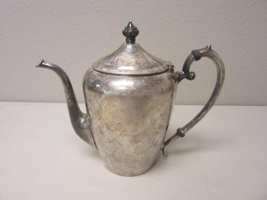 """Vintage Silverplate 7.5"""" Tea Kettle"""