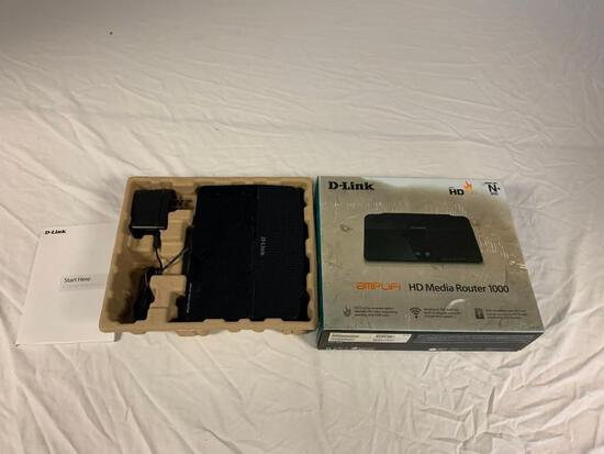 D-Link 300 Mbps 4-Port Gigabit Wireless N Router