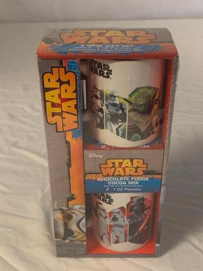 STAR WARS 2 Mug Gift Set Yoda & Darth Vader NEW