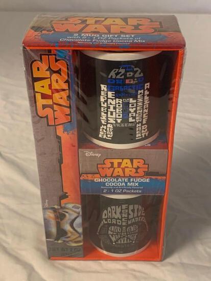 Star Wars 2 Mug Gift Set R2-D2 & Darth Vader NEW
