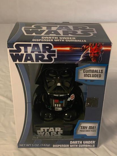 STAR WARS Talking Darth Vader Gum Dispenser NEW