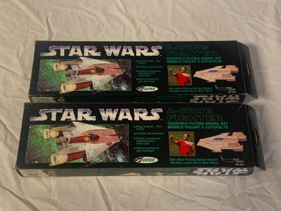 2 STAR WARS A-Wing Fighter Flying Model Kits NEW