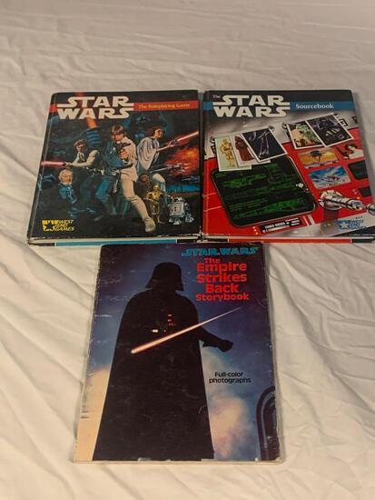 STAR WAR Lot of 3 Vintage Books Sourcebook, Empire