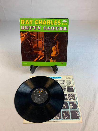 RAY CHARLES Betty Carter 1961 Album Record