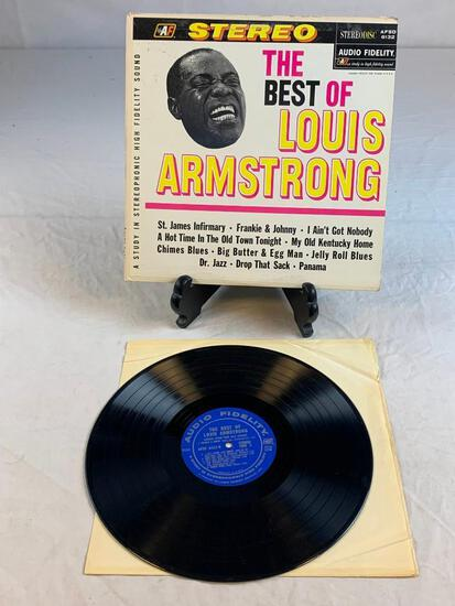 LOUIS ARMSTRONG The Best Of 1964 Album Record