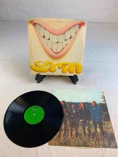 GRIN All Out 1972 Album Record