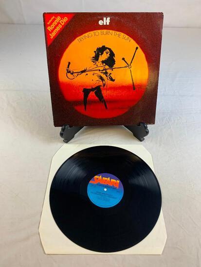 ELF Trying To Burn the Sun 1975 Album Record DIO