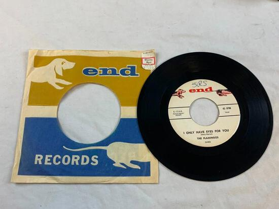 THE FLAMINGOS I Only Have Eyes For You 45 RPM 1959