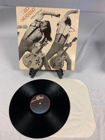 TED NUGENT Free For All 1976 Album Record