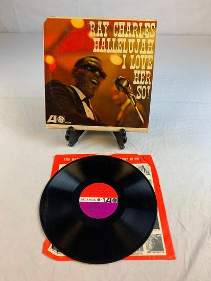 RAY CHARLES Hallelujah I Love Her So 1962 Album