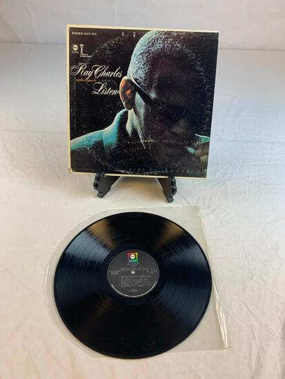 RAY CHARLES Invites You To Listen 1962 Album